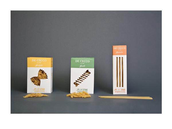 DeCecco Pasta Packaging #packaging #pasta #dececco
