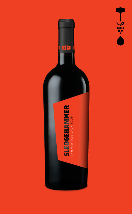 Sledgehammer Jeffrey Bucholtz #packaging #label #iconography #wine