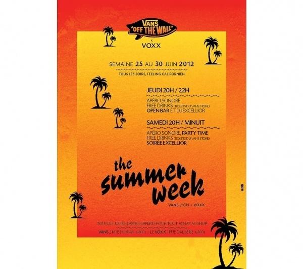 VANS SUMMER WEEK - adb #vans #poster