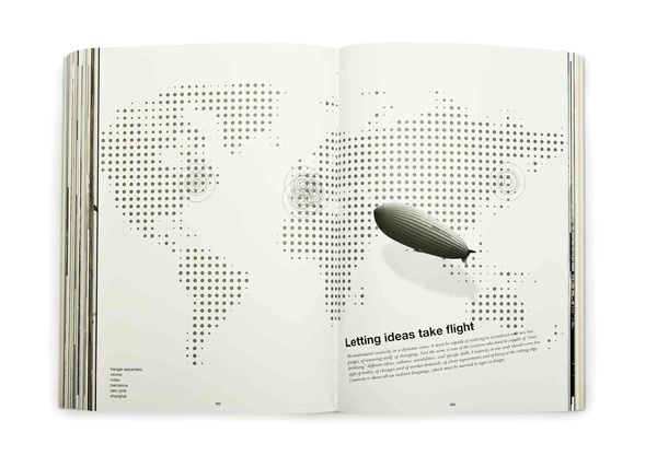 As I told you before, Ideas not Airships on the Behance Network #group #design #book #graphics #biography #hangar