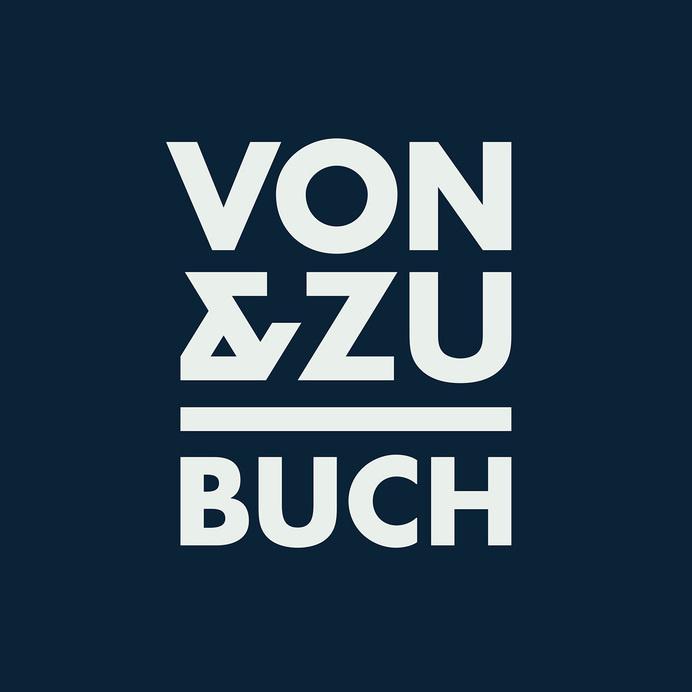VON & ZU BUCH Book Shop Logo - www.philippzm.com #branding #shop #book #store #ampersand #identity #symbol #logo