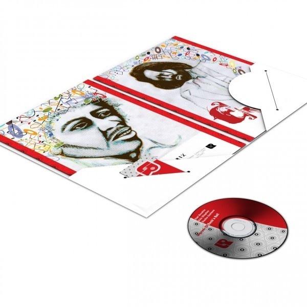 Legends of Rock'n Roll Pocket Folder #singers #jimi #presentation #music #pocket #rocknroll #folder