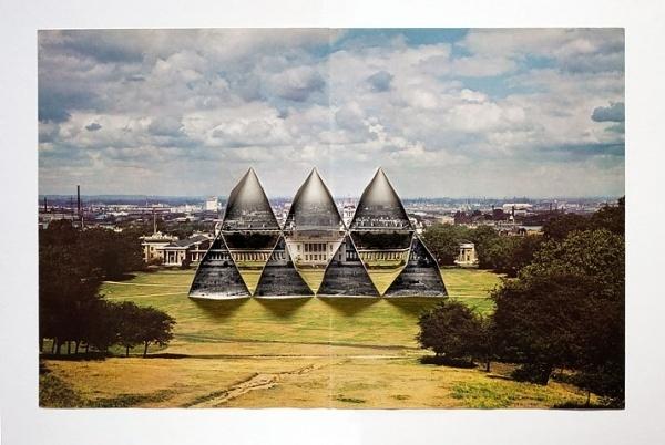 Collider by Abigail Reynolds at AMBACH & RICE | Yatzer #fold #paper #art