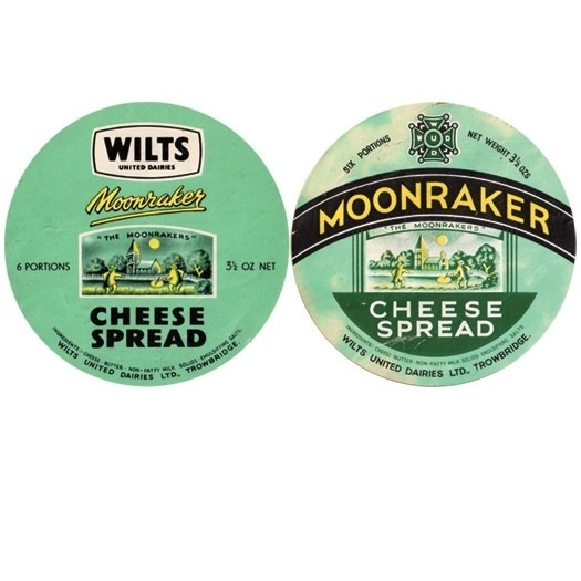 A Collection of Vintage Cheese Labels: Slideshow: Observatory: Design Observer #cheese #packaging #label #brand #vintage