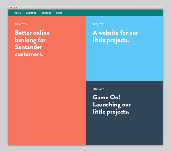 Our Little Projects #website #layout #design #web
