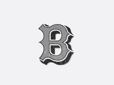 Dribbble - B 2.0 by Ben Garner #type #lettering