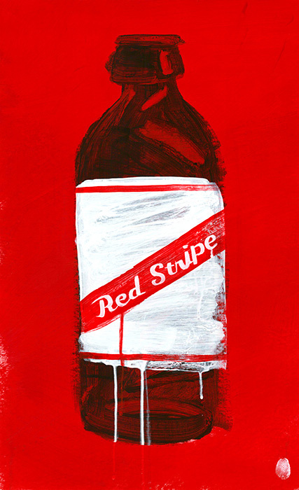 #graphics, #painting, #beer, #red