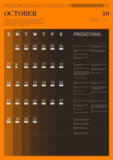 Predictions : Tim Wan : Graphic Design #swan #tim #grid #predictions #typography