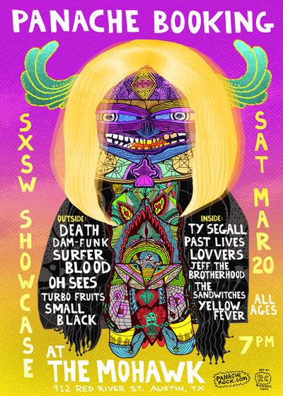 Panache Booking SXSW showcase 2010 #killer #acid