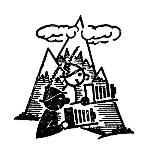 logo for nature photographer brothers circa 1955 #icon #logo #vintage