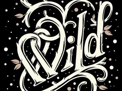 Dribbble - Stark Wild by Chris DeLorenzo #type