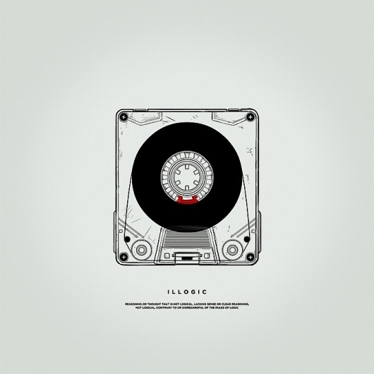 Silence Television - Blog #illustration #design #illogic