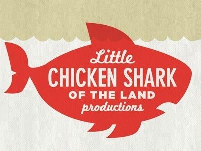 Dribbble - Little Chicken Shark of the Land by Bennie Kirksey Wells #logo #illustration #art