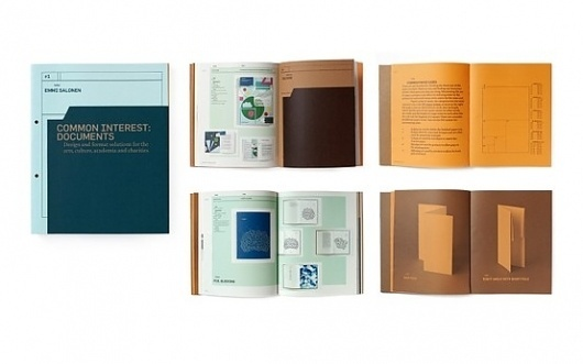 1Publications 2Book Design 3Binding 4Finishing / Studio EMMI: Common Interest: Documents / Collate #format #book