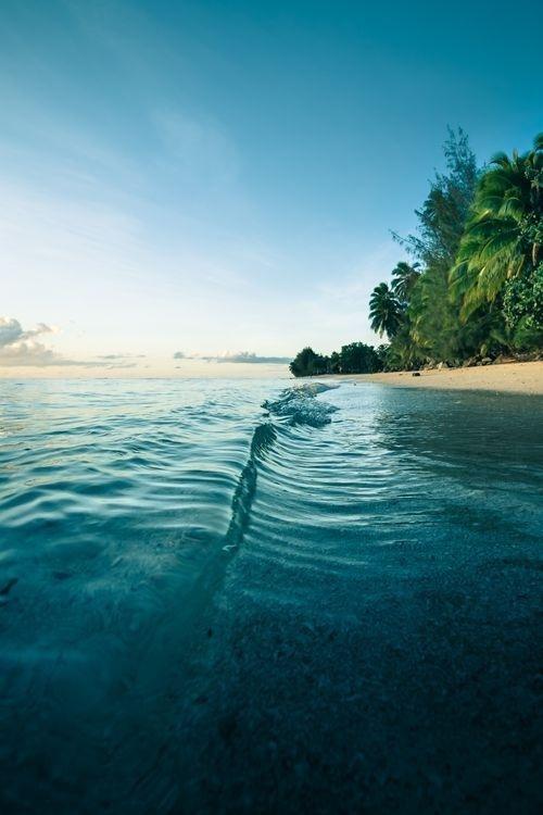 Beach #waves