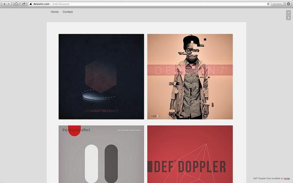 DeLaSelis.com #itunes #marsalis #design #book #website #eason #photography #delaselis