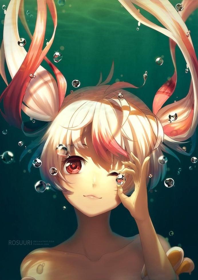 Beautiful Manga and Anime Paintings