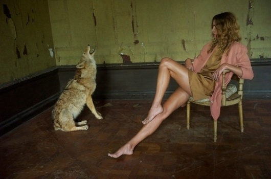 Nan Goldin shoots Erin Wasson for Scanlan & Theodore | TrendLand: Fashion Blog & Trend Magazine #fashion #photo #coyote