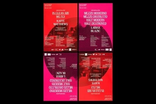 StudioMakgill - Gillet Square #makgill #identity #studio #poster #layout #typography