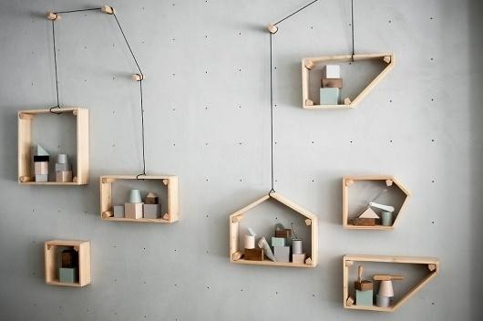 Lama /Non Lama Exhibition by StudioPepe | Trendland: Fashion Blog & Trend Magazine #interior #design #wood #furniture #stools #metal