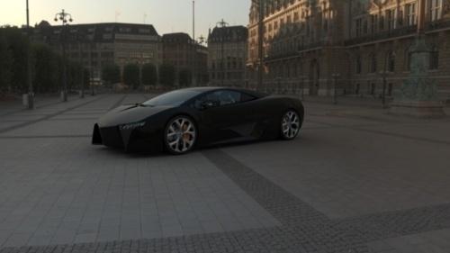 Go Hard or Go Home ! #levo #black #lamborghini #car #style
