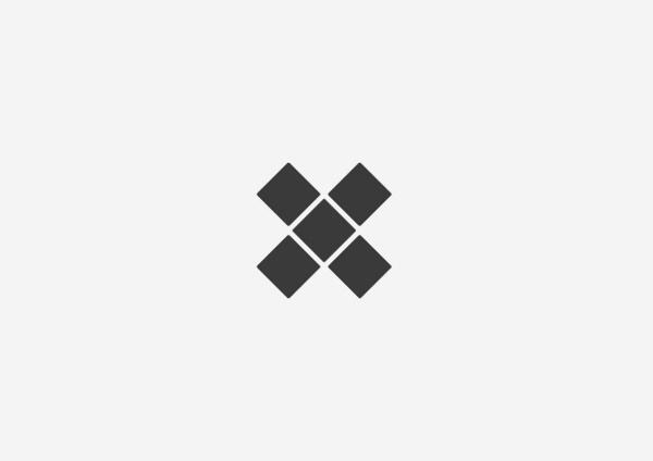5 X 5 #sydney #design #graphic #five #minimal #poster #blackandwhite #walsh