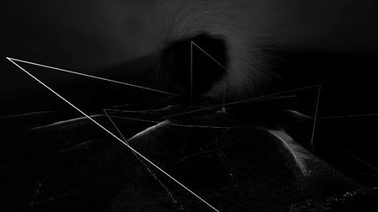 IdN™ Creators® — Misha Shyukin (Aachen, Germany) #ink #geometry #white #lines #installation #black