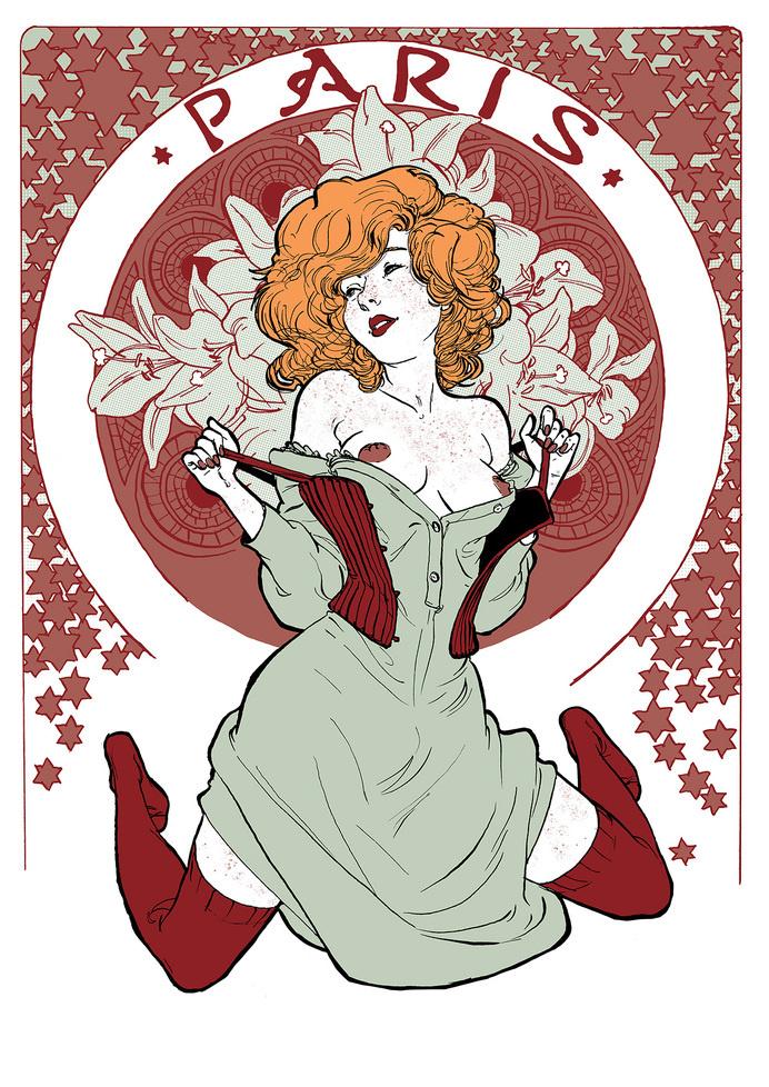 yannick corboz illustration #paris #illustration #noveau #art