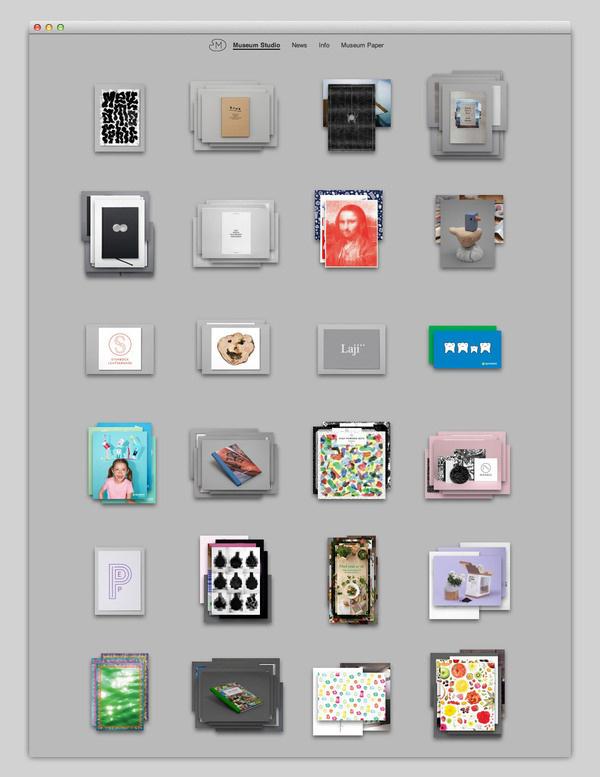 Museum Studio #website #layout #web