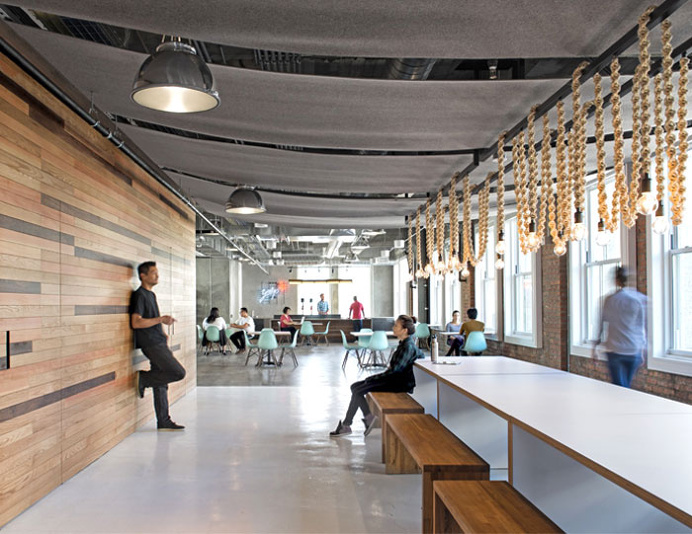 Attractive Office Space by O+A - #office, office design, office space