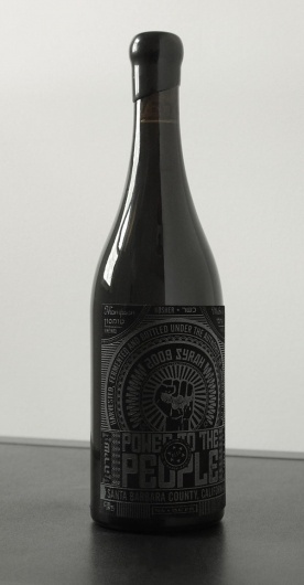Power To The People Wine Label #packaging #label #wine