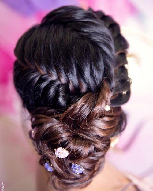 Multi Fishtail Braid For Long Hair