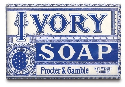 FFFFOUND! | Floating Soap - Brand New #type