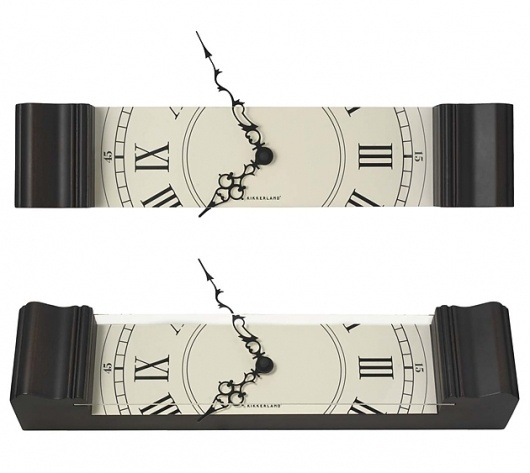 kikkerland sliced grandfather clock | urban taster #clock #product