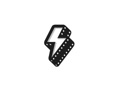 Thunderfilms #logo #lightining #branding #film