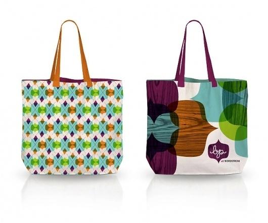 Matt Lehman Studio #pattern #bags #branding