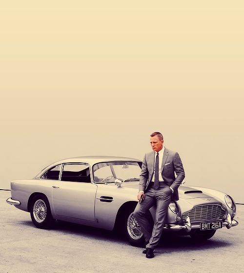 Bond, James Bond #cars #classic #photography #actor