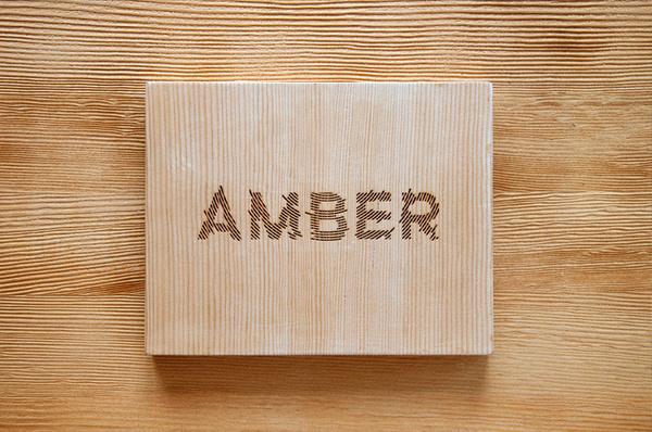 amber book case #wood #case #book #laser