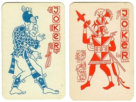 mayan playing cards #joker #cards #playing