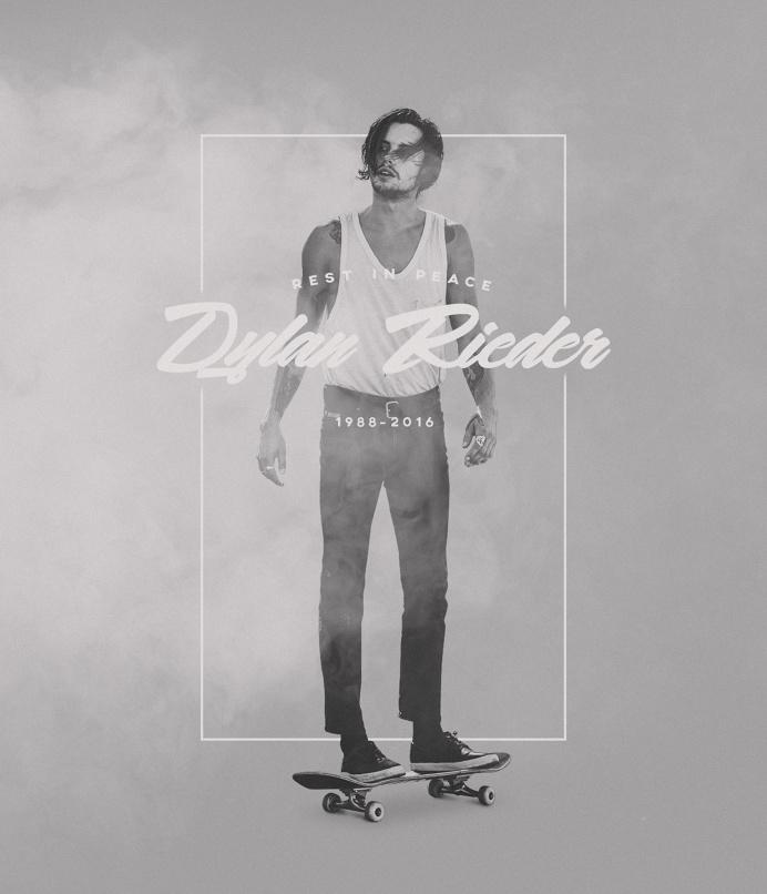 Rest in Peace Dylan Rieder 1988-2016 #dylanrieder #rip #skateboarding #legend #fuckcancer
