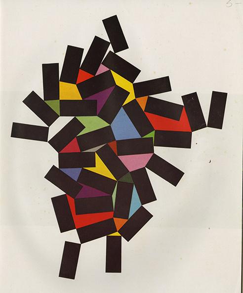 Leo Lionni's Alternative Theory of Advertising Design #rectangle #colour #geometric