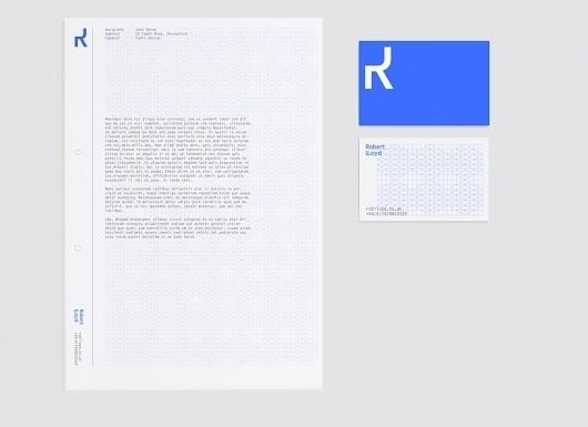 Robert Lloyd, Ben Jeffery's Portfolio #letter #head #stationary