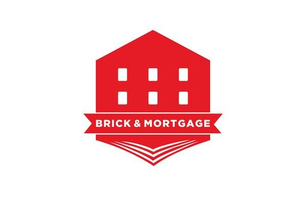 Brick & Mortgage logo 1 design by Joshua Michael #logo