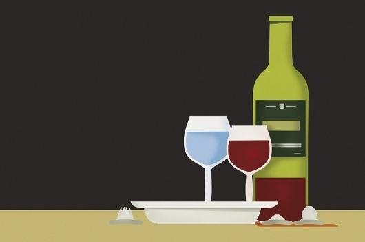 Esteve Padilla ➽ ohhh.ws #wine #airbrush #poster
