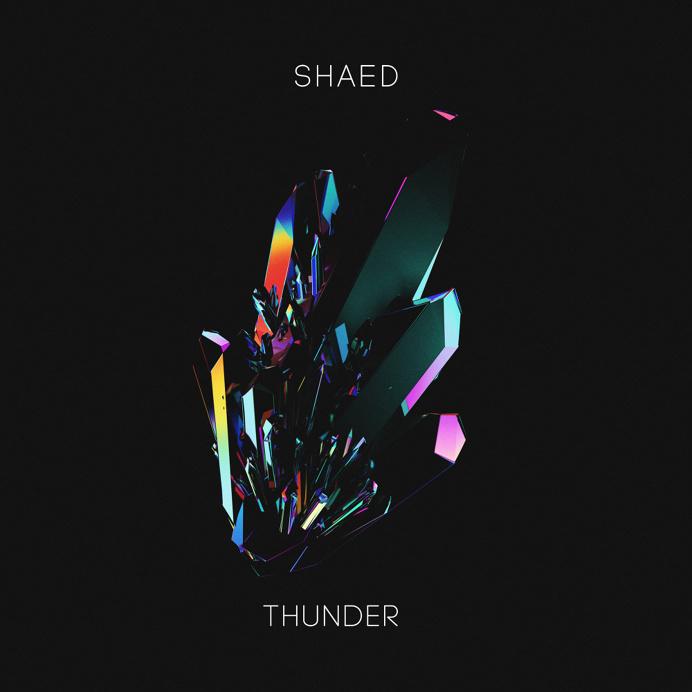 SHAED - Thunder Artwork by Quentin Deronzier