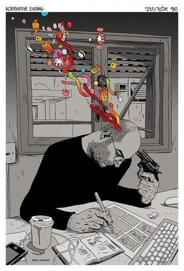 Alternative Ending von asafhanuka auf Etsy #comics #colors