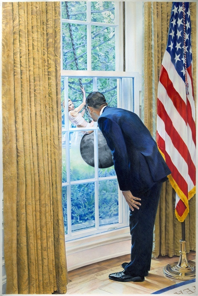 Eric Yahnker - JOQUZ #gallery #art #obama #pop