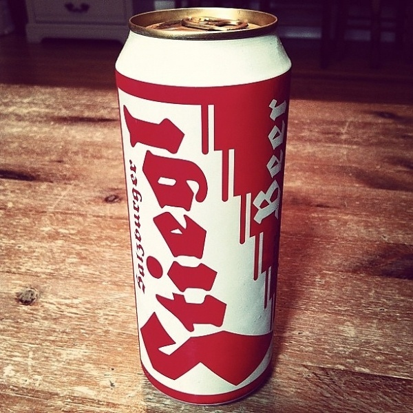 INK361 - Photo - Love this can #packaging #beer #blackletter #can