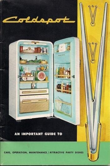 Coldspot+Manual.jpg 1,064×1,600 pixels #mark #loewy #raymond #catalog #fridge #coldspot #manual #brochure