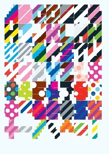 Untitled | Flickr - Photo Sharing! #spots #stripes #playschool #fun #colour #typography